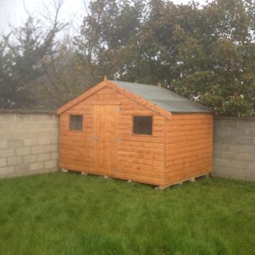 8ft x 10ft Shiplap garden shed