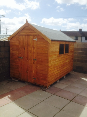 10ft x 6ft Rustic shed
